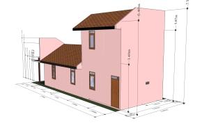 desain rumah kampung padi tukang bangunan bsd, pemborong bangunan bsd